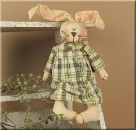 E240 - Plaid Honey Baby Rabbit
