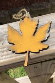 Fall Wood 951 Golden Yellow Leaf