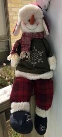 Primitive Snowman 50220S- Snowman