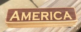 PBW901R - America Wood Block