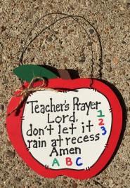 Teacher Gifts 691 Teacher's Prayer Apple