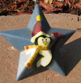 OR-204 - Penguin Metal Star