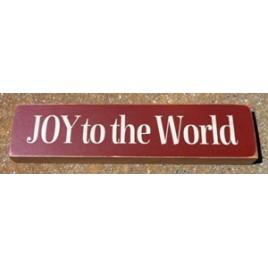T1915 - Joy to the World Wood Block