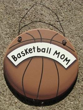 WD1900C - Basketball Mom wood sign