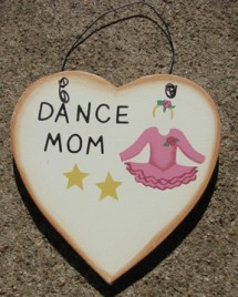 WD1900H - Dance Mom wood sign