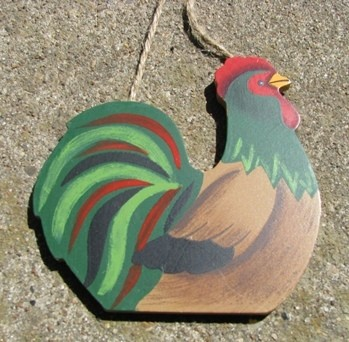 Wood Rooster CH10