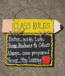 Teacher Gifts CT45 Class Rules