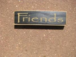 PBW915B- Friends mini wood block