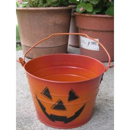 1234jol -Halloween Metal Bucket