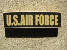 PBW943B - U S Air Force wood block