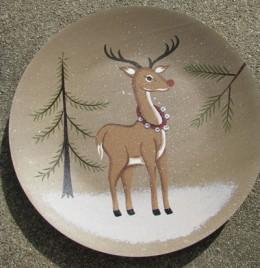 PLATE3 - Deer Plate