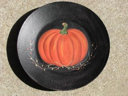 Pumpkin Plate RPX-1 Wooden Fall Plate