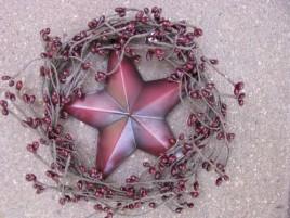 Patriotic Wreath STW-3 Red Star in Wreath