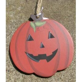 wd1137 Wood Halloween Pumpkin