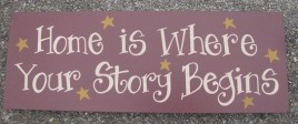 Primitive  Message Block wd2024 Home is Where Your Story Begins