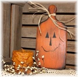Pumpkin Paddle Fall Decor WPADP - Pumpkin Wood Paddle
