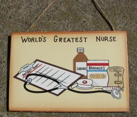 WS134 - World's Greatest Nurse